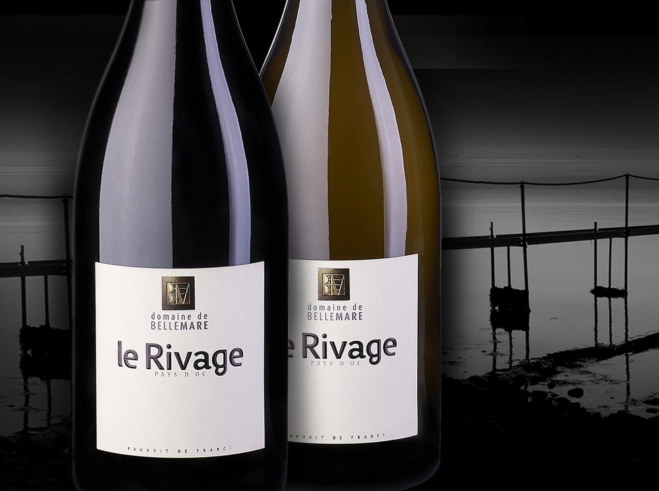 Le Rivage - White & Red